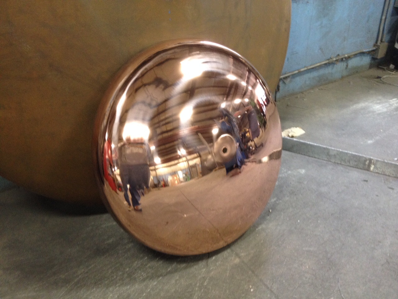 Copper Tank heads