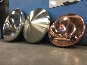 Polish! Aluminum Tank heads, Stainless Steel Tank heads and Copper Tank heads