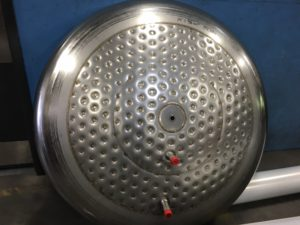 Stainless Steel Tank Heads with heat transfer jacket