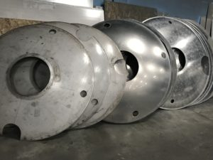 Aluminum Heads and baffles